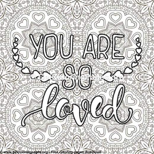 i love you quotes coloring pages - GetColoringPages.org