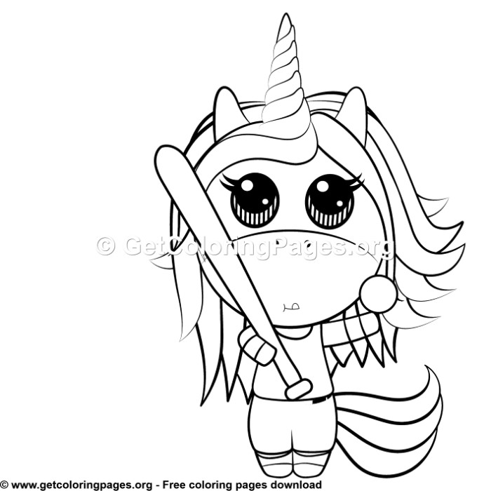 125 Cute Unicorn Coloring Pages Getcoloringpages Org