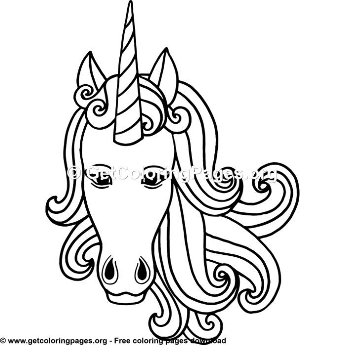 134 Rainbow Unicorn Coloring Pages - GetColoringPages.org